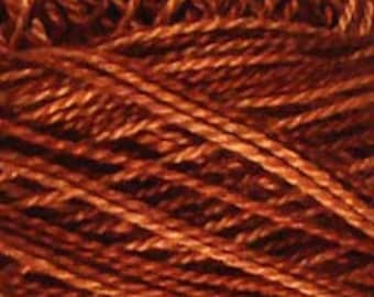 Valdani Thread , Size 12, H201, Perle Cotton, Rust, Embroidery Thread, Punch Needle, Embroidery, Penny Rugs, Sewing Accessory, Hardanger