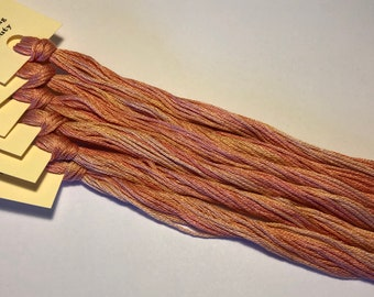 Classic Colorworks, Blushing Beauty, CCT-169, 5 YARD Skein, Hand Dyed Cotton, Embroidery Floss, Cross Stitch, Hand Embroidery Thread