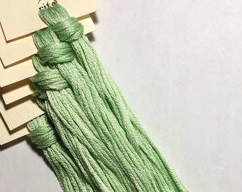 Classic Colorworks, Frozen Margarita, CCT-173, 5 YARD Skein, Hand Dyed Cotton, Embroidery Floss, Counted Cross Stitch, Punch Needle