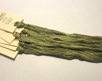 Classic Colorworks, Weeping Willow, CCT-162, 5 YARD Skein, Hand Dyed Cotton, Embroidery Floss, Counted Cross Stitch, Hand Embroidery Thread
