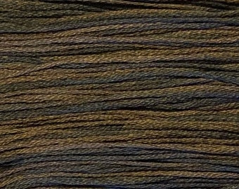Weeks Dye Works, Grape Vine, WDW-1273, 5 YARD Skein, Hand Dyed Cotton, Embroidery Floss, Cross Stitch, Hand Embroidery, Punch Needle