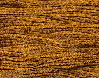 Weeks Dye Works, Tiger's Eye, WDW-1225, 5 YARD Skein, Cotton Floss, Embroidery Floss, Counted Cross Stitch, Hand Embroidery, PunchNeedle