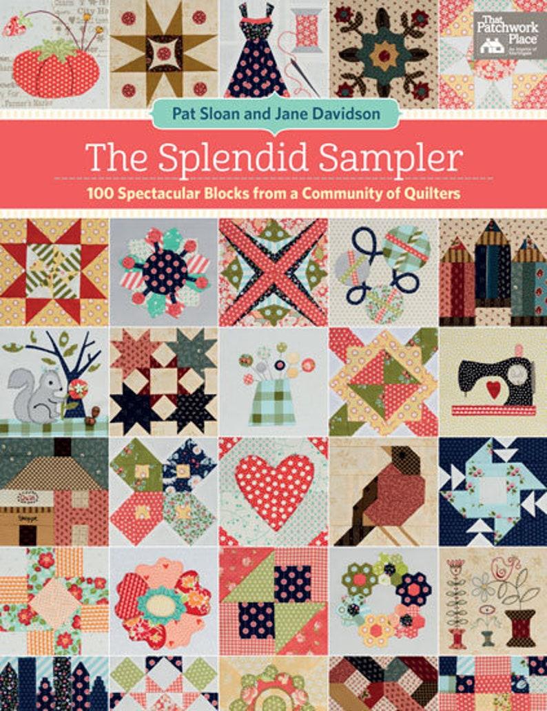Quilt Book The Splendid Sampler Quilt Patterns Sampler image 0