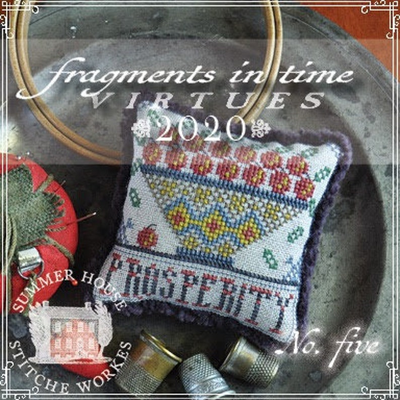 Counted Cross Stitch Pattern Fragments in Time 2020 No 5 image 0
