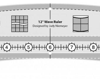 Quilt Ruler, Creative Grids, Waves, Acrylic Ruler, Creative Grids Ruler, Judy Niemeyer, CGRWAVE, FREE PATTERN, Wicker Basket, Quilt Pattern
