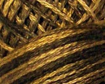 Valdani 3 Strand, P9, Bronze, Cotton Floss, Cross Stitch, Punch Needle, Embroidery, Penny Rugs, Wool Applique, Tatting