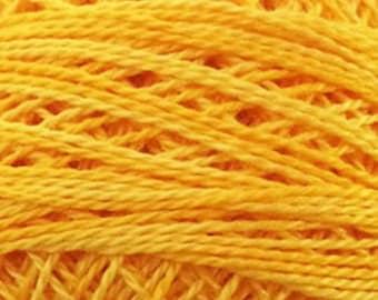 Valdani Thread, Size 8, O12, Sunshine Glory, Perle Cotton, Punch Needle, Embroidery, Penny Rugs, Primitive Stitching, Sewing Accessory