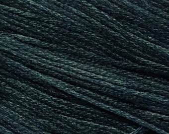 Weeks Dye Works, Twilight, WDW-1285, 5 YARD Skein, Hand Dyed Cotton, Embroidery Floss, Counted Cross Stitch, Embroidery, Over Dyed Cotton
