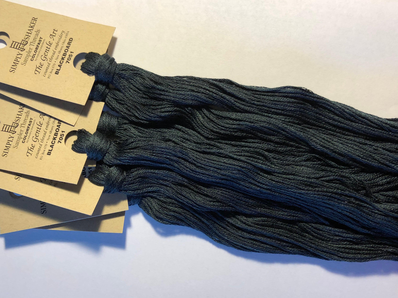 Gentle Art, Simply Shaker Threads, Blackboard, #7051, 10