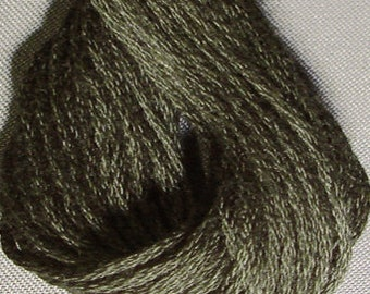 Valdani, 6 Strand Cotton Floss, 893, Juniper Dark, Embroidery Floss, Punch Needle, Embroidery, Penny Rugs, Sewing Accessory