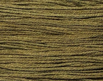 Weeks Dye Works, Flatfish, WDW-1239, 5 YARD Skein, Cotton Floss, Embroidery Floss, Counted Cross Stitch, Hand Embroidery, PunchNeedle