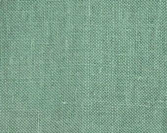 16 Count Aida, Mediterranean Sea, Green Aida, Counted Cross Stitch, Cross Stitch Fabric, Embroidery Fabric, Evenweave Fabric