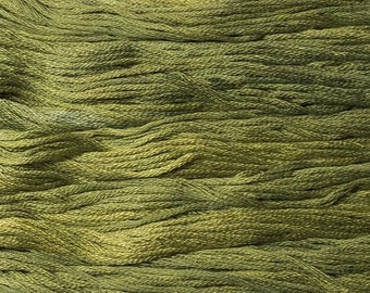 Gentle Art, Simply Shaker Threads, Shutter Green, #7003, 10 YARD Skein, Embroidery Floss, Counted Cross Stitch, Hand Embroidery Thread