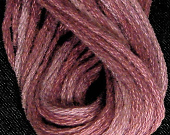 Valdani, 6 Strand Cotton Floss, H208, Forgotten Lavender, Embroidery Floss, Punch Needle, Embroidery, Penny Rugs, Sewing Accessory