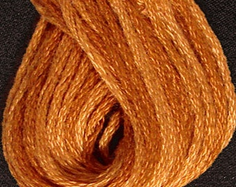 Valdani, 6 Strand Cotton Floss, O217, Yummy Pumpkin, Embroidery Floss , Punch Needle, Embroidery, Penny Rugs, Sewing Accessory