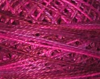 Valdani 3 Strand, V3, Fuchsia Love, Cotton Floss, Punch Needle, Embroidery, Penny Rugs, Wool Applique, Cross Stitch, Hardanger, Tatting