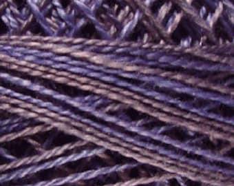 Valdani Thread, Size 12, O562, Valdani Perle Cotton, Horizon Storm, Punch Needle, Embroidery, Penny Rugs, Hand Stitching, Sewing Accessory