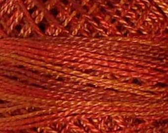 Valdani Thread, Size 12, O510, Perle Cotton, Terracotta Twist, Punch Needle, Embroidery, Penny Rugs, Stitching, Hardanger, Sewing Accessory