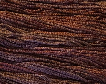 Gentle Art, Simply Shaker Threads, Grape Arbor, #7022, 10 YARD Skein, Embroidery Floss, Counted Cross Stitch, Hand Embroidery Thread