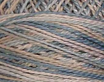Valdani Thread, Size 8, JP11, Valdni Perle Cotton, Heavenly Hue, Embroidery Thread, Variegated Thread, Hand Dyed Thread, Wool Applique