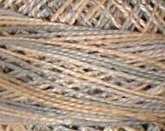 Valdani Thread, Size 12, M1001, Valdani Perle Cotton, Vanilla Sky, Punch Needle, Embroidery, Penny Rugs, Hand Stitching, Sewing Accessory