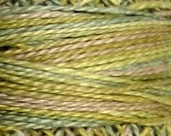 Valdani Thread, Size 8,  M80, Distant Grass, Perle Cotton, Punch Needle, Embroidery, Penny Rugs, Primitive Stitching, Sewing Accessory