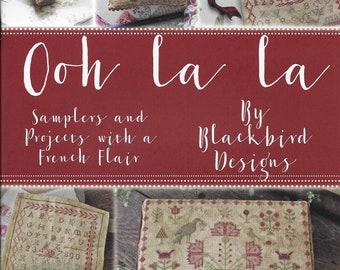 Softcover Book, Ooh La La, Samplers, Counted Cross Stitch, French Country, Primitive Decor, Rustic Decor, Home Decor, Blackbird Designs