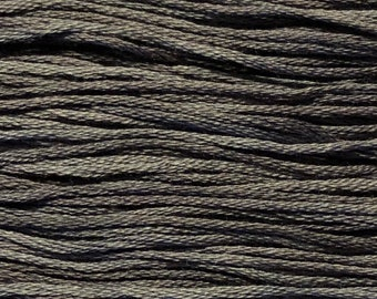 Weeks Dye Works, Blackboard, WDW-1295, 5 YARD Skein, Hand Dyed Cotton, Embroidery Floss, Counted Cross Stitch, Embroidery, PunchNeedle