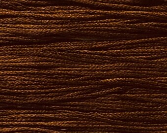 Weeks Dye Works, Tatanka, WDW-1272, 5 YARD Skein, Embroidery Floss, Counted Cross Stitch, Embroidery, Punch Needle, Wool Applique, Tatting