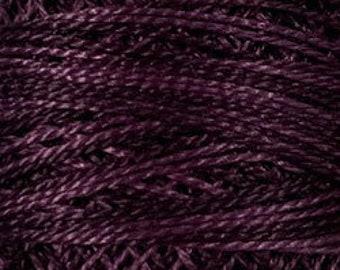 Valdani Thread, Size 12, O86, Ripened Plum, Perle Cotton, Punch Needle, Embroidery, Penny Rugs, Punchneedle, Hardanger, Sewing Accessory