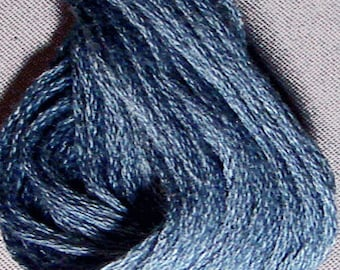 Valdani, 6 Strand Cotton Floss, 871, Dusty Blue Light, Embroidery Floss, Punch Needle, Embroidery, Penny Rugs, Sewing Accessory