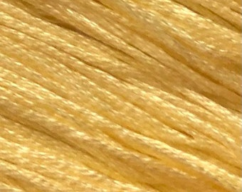 Weeks Dye Works, Buttercup, WDW-6650, 5 YARD Skein, Hand Dyed Cotton, Embroidery Floss, Counted Cross Stitch, Embroidery, Punch Needle
