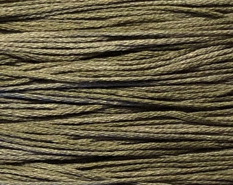 Weeks Dye Works, Spanish Moss, WDW-1150, 5 YARD Skein, Hand Dyed Cotton, Embroidery Floss, Counted Cross Stitch, Embroidery, PunchNeedle