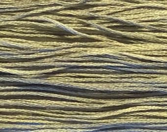 Weeks Dye Works, Tin Roof, WDW-1174, 5 YARD Skein, Cotton Floss, Embroidery Floss, Counted Cross Stitch, Hand Embroidery, PunchNeedle