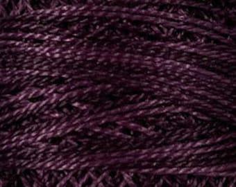 Valdani 3 Strand, O86, Ripened Plum, Valdani Perle Cotton, Pearl Cotton, Punch Needle, Embroidery, Penny Rugs, Wool Applique, Cross Stitch