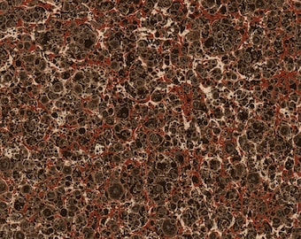 Hand Marbled Paper for Restoration and Bookbinding 48x67cm 19x26in d305