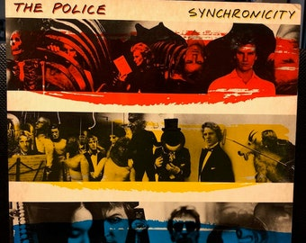 """THE POLICE """"Synchronicity"""" vinyl record from 1983"""