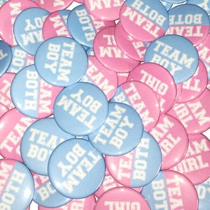 1.25 Pinback Button Spring White Ready to Ship Green Patrick VB459 Gender Reveal 15 Buttons Twins St Imperfect VB460 VB110