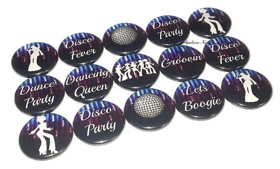 Button 1.25 Dance Theme Dance Birthday Pin 1 Dance Gift Dance CD004 Dance Party Favor Flatback Pinback Dance Gift Dance Decor