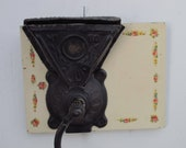 Antique Coffee Grinder Cast Iron Wall Mount Coffee Mill Parker No. 80