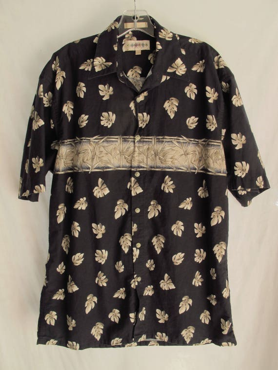 1ab3ac4df847 Men s 90s Hawaiian Shirt Tropical Size Medium Indonesian