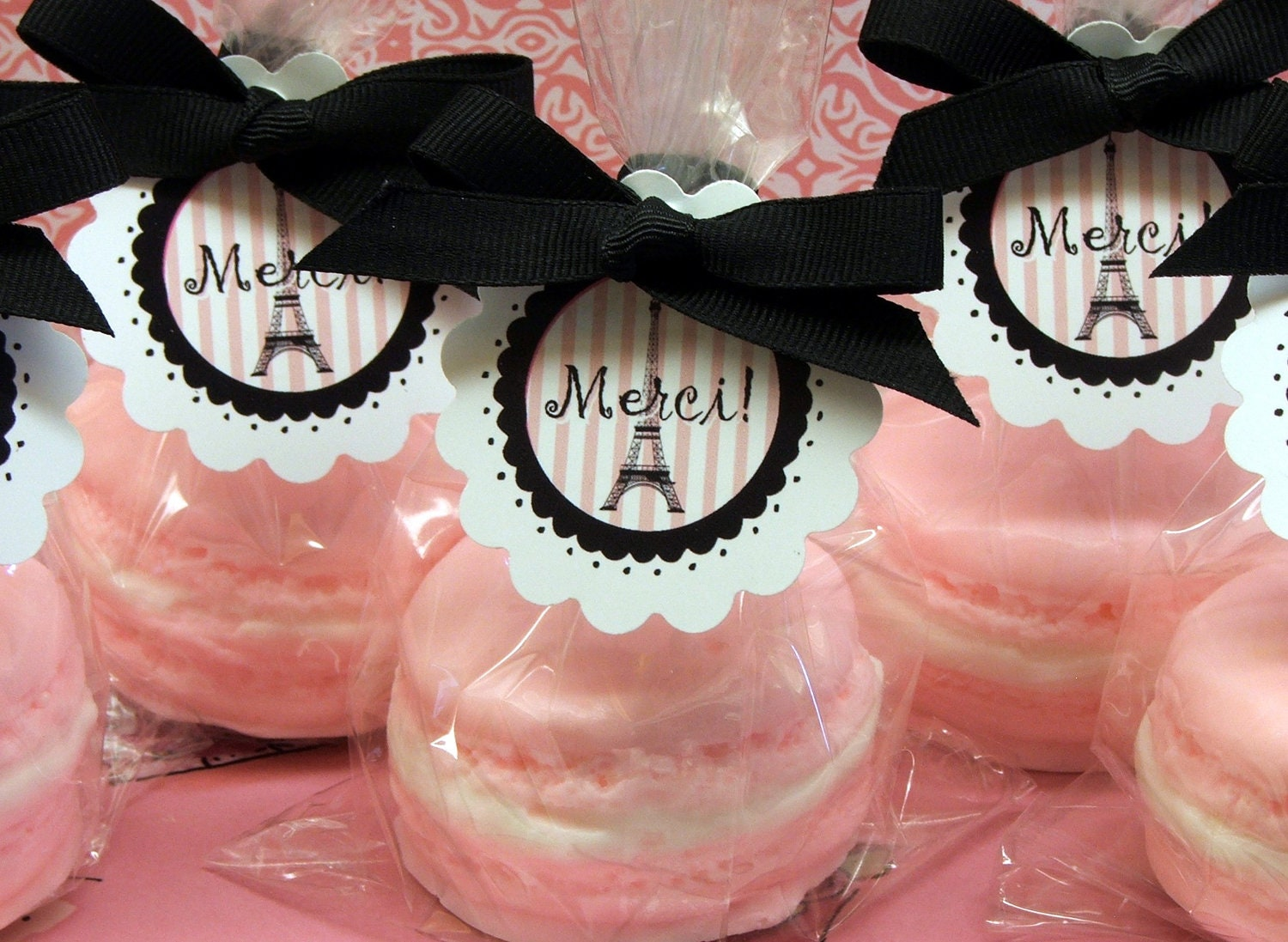 Set of 10 Macaroon Macaron Soap Gift Paris Party Favors | Etsy