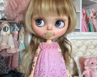 Set of 2 - Mini BINKY PACIFIER DUMMY for Blythe & Mini Ooak Baby Dolls