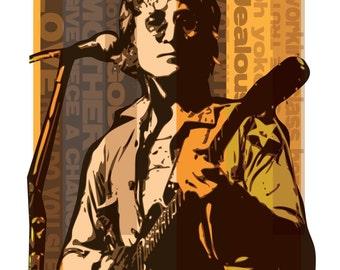 John Lennon Concert Poster