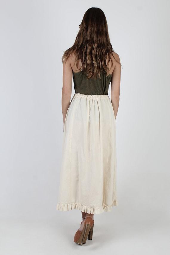 Flour Sack Skirt / Native American Indian Print /… - image 5
