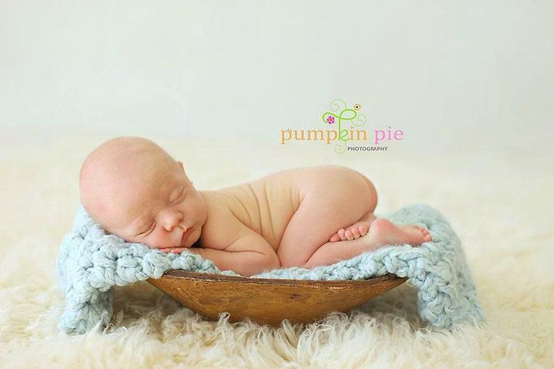 Powder Puff Newborn Baby Blanket Newborn Photography Prop
