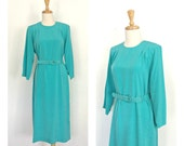 Vintage Shift Dress - 70s...