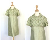 Vintage Green Party Dress...