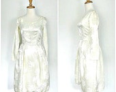 1950s Wedding Dress - 50s...