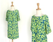 Vintage  Shift Dress - co...